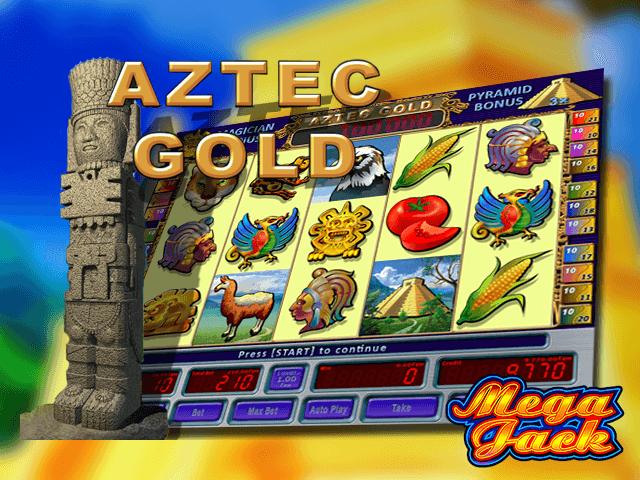 В игровой аппарат Aztec Gold играть бесплатно