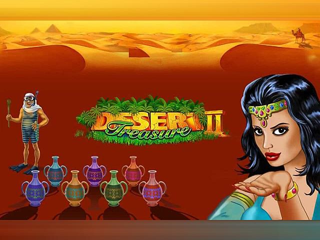 В игровой автомат Desert Treasure II играть бесплатно